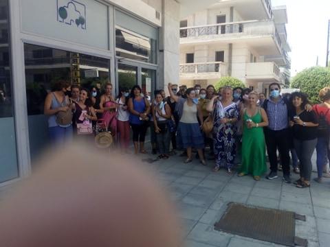 Ο αγώνας των εργαζομένων φέρνει αποτελέσματα - πήραν πίσω τις απολύσεις στον δήμο Αγ. Παρασκευής
